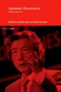 Foto Cover di Japanese Governance, Ebook inglese di  edito da Taylor and Francis