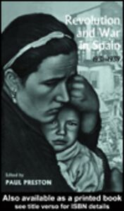 Ebook in inglese Revolution and War in Spain, 1931-1939