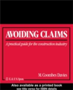 Ebook in inglese Avoiding Claims Davies, M. Coombes