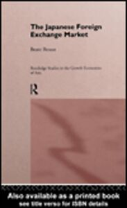 Ebook in inglese The Japanese Foreign Exchange Market Reszat, Beate