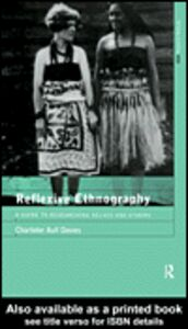 Ebook in inglese Reflexive Ethnography Aull Davies, Charlotte