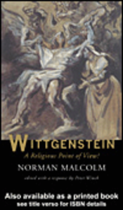 Ebook in inglese Wittgenstein Malcolm, Norman , Winch, Peter