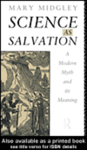 Ebook in inglese Science as Salvation Midgley, Mary