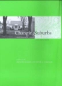 Ebook in inglese Changing Suburbs