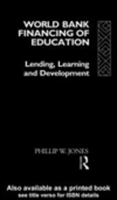 World Bank Financing of Education