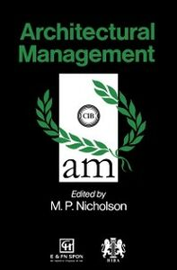 Ebook in inglese Architectural Management -, -