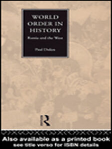 Ebook in inglese World Order in History Dukes, Paul