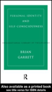 Ebook in inglese Personal Identity and Self-Consciousness Garrett, Brian