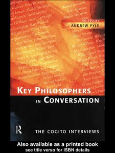 Ebook in inglese Key Philosophers in Conversation