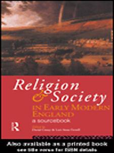Foto Cover di Religion and Society in Early Modern England, Ebook inglese di David Cressy,Lori Anne Ferrell, edito da