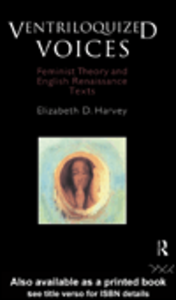 Ebook in inglese Ventriloquized Voices Harvey, Elizabeth