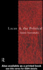 Ebook in inglese Lacan and the Political Stavrakakis, Yannis