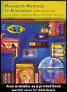 Ebook in inglese Research Methods in Education Cohen, Louis , Manion, Lawrence , Morrison, Keith