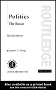 Foto Cover di Politics, Ebook inglese di Stephen Tansey, edito da