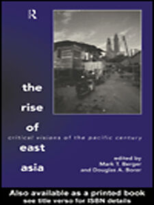 Ebook in inglese The Rise of East Asia