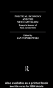 Ebook in inglese Political Economy and the New Capitalism