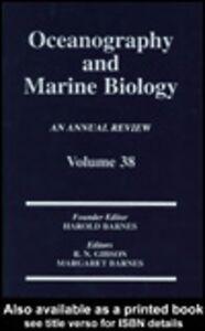 Foto Cover di Oceanography and Marine Biology, Ebook inglese di Margaret Barnes,R. N. Gibson, edito da