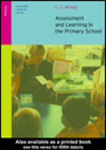 Foto Cover di Assessment and Learning in the Primary School, Ebook inglese di E.C. Wragg, edito da