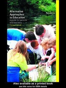 Foto Cover di Alternative Approaches to Education, Ebook inglese di Fiona Carnie, edito da