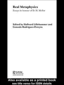 Foto Cover di Real Metaphysics, Ebook inglese di Gonzalo Rodriguez-Pereyra,Hallvard Lillehammer, edito da