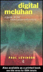 Ebook in inglese Digital McLuhan Levinson, Paul