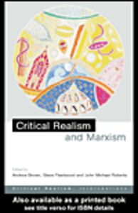 Ebook in inglese Critical Realism and Marxism