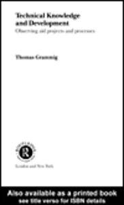 Foto Cover di Technical Knowledge and Development, Ebook inglese di Thomas Grammig, edito da