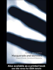Ebook in inglese Masquerade and Identities Tseëlon, Efrat