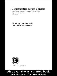 Ebook in inglese Communities Across Borders