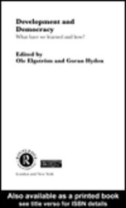 Ebook in inglese Development and Democracy