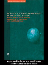 Non-State Actors and Authority in the Global System
