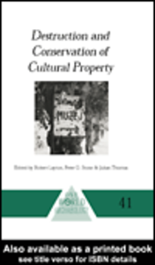 Ebook in inglese Destruction and Conservation of Cultural Property