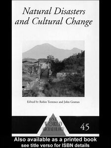 Ebook in inglese Natural Disasters and Cultural Change