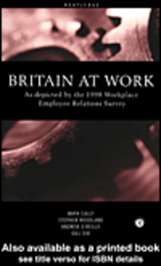 Ebook in inglese Britain at Work Cully, Mark , Dix, Gill , O'Reilly, Andrew , Woodland, Stephen