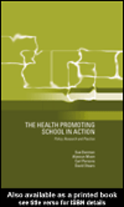 Ebook in inglese The Health Promoting School Denman, Susan , Moon, Alysoun , Parsons, Carl , Stears, David