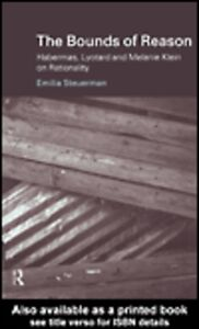 Ebook in inglese The Bounds of Reason Steuerman, Emilia