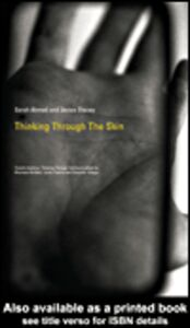 Ebook in inglese Thinking Through the Skin