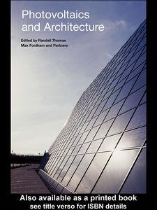 Foto Cover di Photovoltaics and Architecture, Ebook inglese di Randall Thomas, edito da