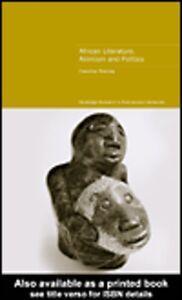 Foto Cover di African Literature, Animism and Politics, Ebook inglese di Caroline Rooney, edito da