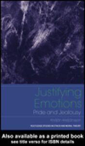 Ebook in inglese Justifying Emotions Kristjansson, Kristjan