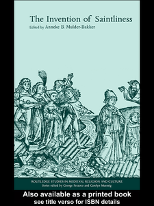 Ebook in inglese The Invention of Saintliness