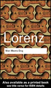 Ebook in inglese Man Meets Dog Lorenz, Konrad