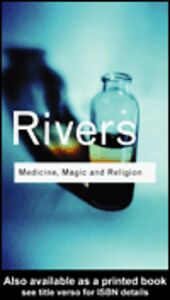 Foto Cover di Medicine, Magic and Religion, Ebook inglese di W.H.R. Rivers, edito da