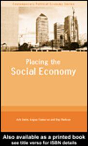 Foto Cover di Placing the Social Economy, Ebook inglese di AA.VV edito da