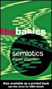 Ebook in inglese Semiotics Chandler, Daniel