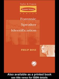 Ebook in inglese Forensic Speaker Identification Rose, Phil