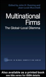 Ebook in inglese Multinational Firms