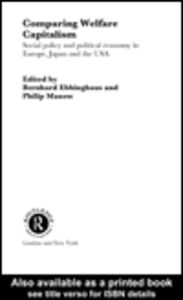 Foto Cover di Comparing Welfare Capitalism, Ebook inglese di Bernhard Ebbinghaus,Philip Manow, edito da