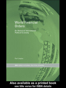 Ebook in inglese World Financial Orders Langley, Paul