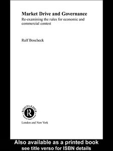 Ebook in inglese Market Drive and Governance Boscheck, Ralf